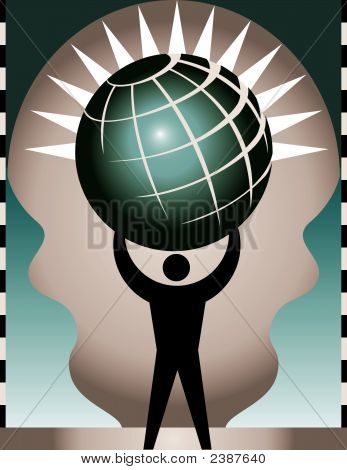 Atlas Globe 33.Eps