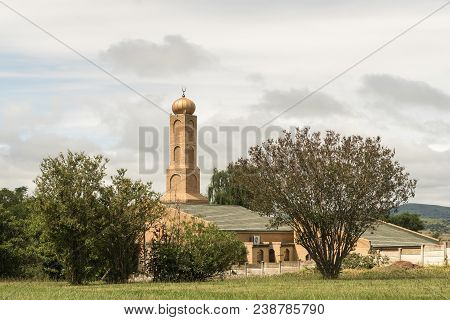 Bergville, South Africa - March 18, 2018: A Mosque In Bergville In The Kwazulu-natal Province
