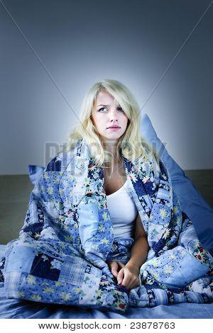 Woman Insomniac