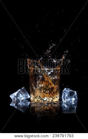 Whiskey With Splash And Ice
