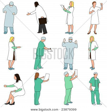 People - Professions - Medical