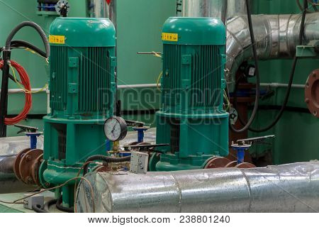 Pumping Equipment For Heating System, Water Supply