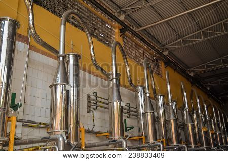 Equipment For The Distillation Of Alcoholic Beverages, Distillation Of Tequila.