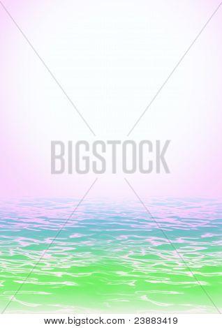 Abstract Color Sea