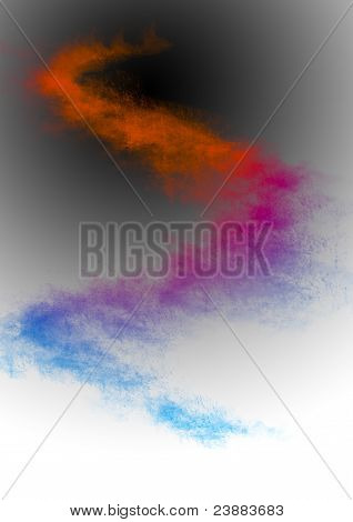 Abstract Color Dark Blur