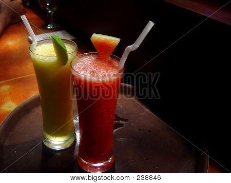 Lemon & Water Melon Shake