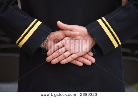 Naval Recruit Hands.