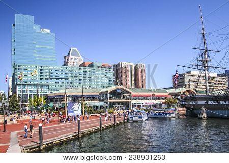 Baltimore Downtown Skyline