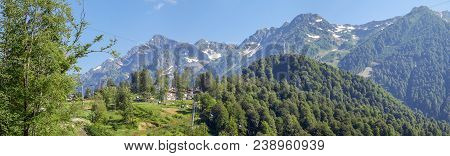 The Mountains Have A Powerful Attraction. In Summer, I Often Come To The Ski Resort Of Rosa Khutor.