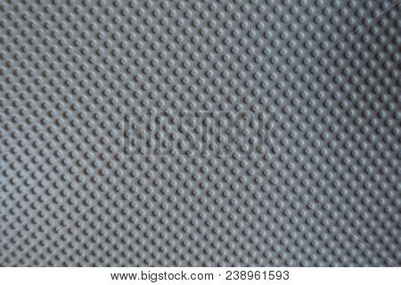 Material With Embossed Polka Dots From Above