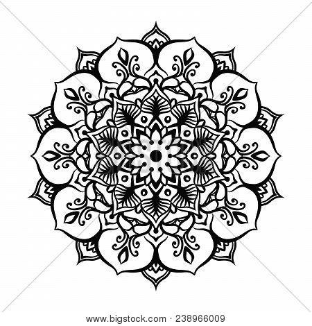 Mandala Tattoo Design Vector & Photo (Free Trial) | Bigstock