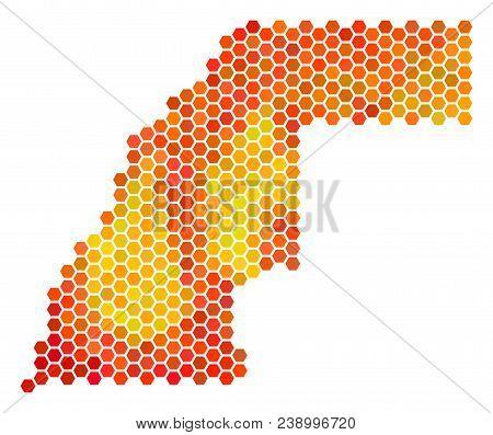 western sahara map vector photo free trial bigstock