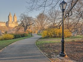 Central Park, New York City  In Early Spring
