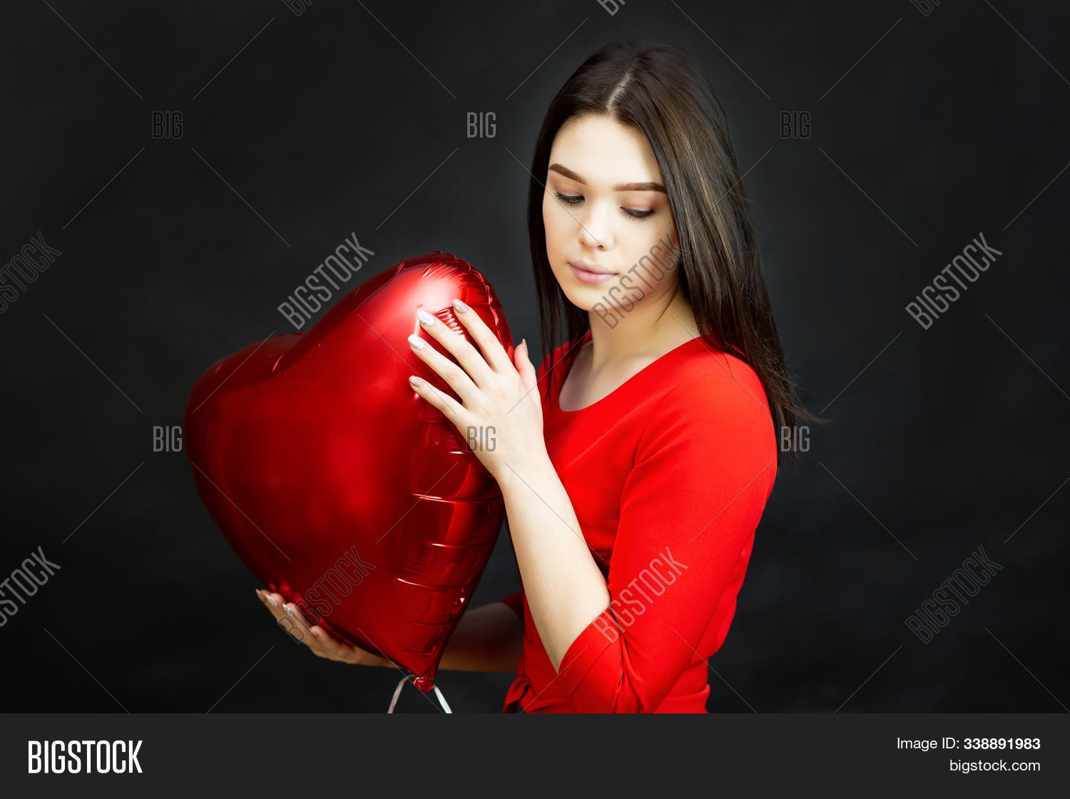 Sad Girl Broken Heart Image Photo Free Trial Bigstock
