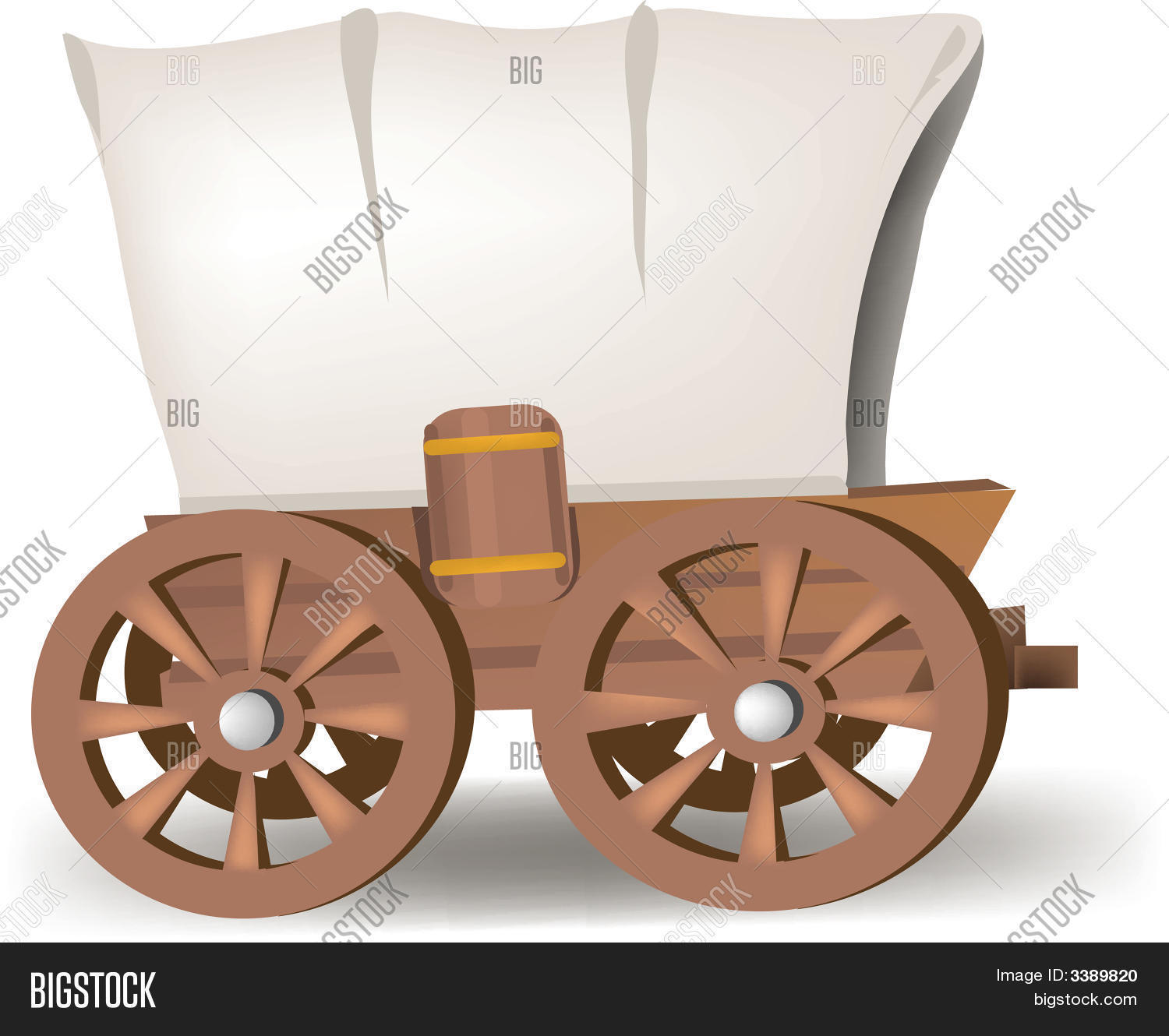 Covered Wagon Vector Photo Free Trial Bigstock