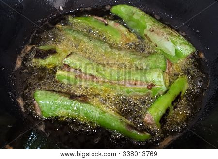 Chinese Style Yong Tau Foo Green Pepper In Oil
