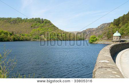 Garreg Ddu reservoir, Elan Valley, Powys Wales UK.