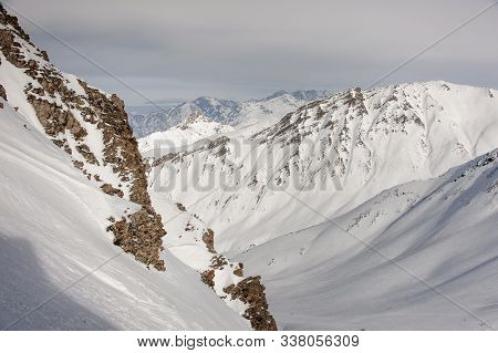 View At The Great High Mountain Tops