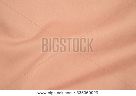 Brown Fabric Background, Brown Fabric Texture. Brown Fabric Backdrop, Cloth Cotton, Wool Background.