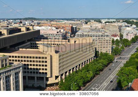 Washington DC - J. Edgar Hoover FBI Building on Pennsylvania Street