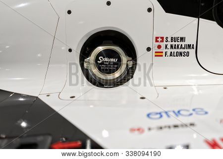 Car Fuel Intake Detail With Which Fernando Alonso Won The 2018-2019 Wec World Endurance Championship