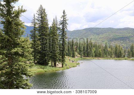 Summer In La Plata County In Durango, Co