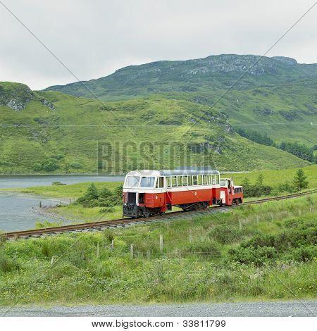 narrow gauge railway, Fintown, County Donegal, Ireland