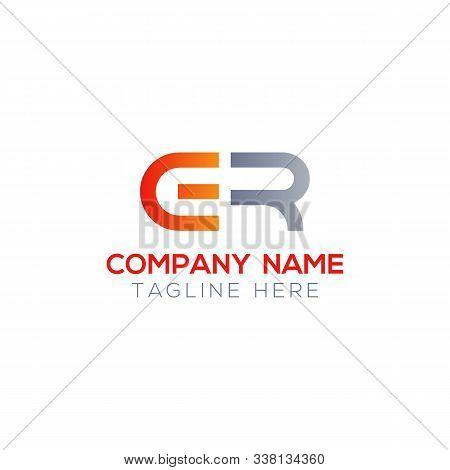 Initial Er Letter Linked Logo. Creative Letter Er Modern Business Logo Vector Template. Initial Er L