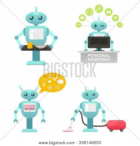 Robo Master, Adviser And Helper, Help Disabled People, Cleaning Robot, Housework, Mechanic Robot, Pe