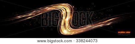 Glint Cosmic Rays. Power Energy. Futuristic Wave Flash. Magic Sparks. Mystical Shine Streaks. Empty