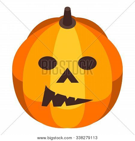 Carving Pumpkin Icon. Isometric Of Carving Pumpkin Vector Icon For Web Design Isolated On White Back