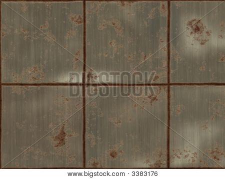Rustry Metal Squares