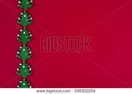 Christmas Or New Year Decoration Background.copy Space.