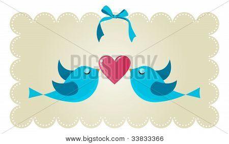 Twitter Love Couple Birds