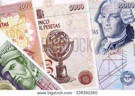Spanish Money - Peseta A Business Background