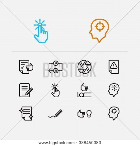 Multitasking Icons Set. Periodic Breaks And Multitasking Icons With Just Do It, Urgent Task And Work