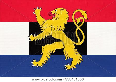 National Flag Of Benelux, Netherlands. Luxembourg, And Belgium Country.
