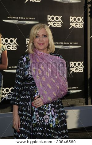 LOS ANGELES - JUN 8: Jennifer Aspen at the 'Rock of Ages' Los Angeles premiere held at Grauman's Chinese Theater on June 8, 2012 in Los Angeles, California