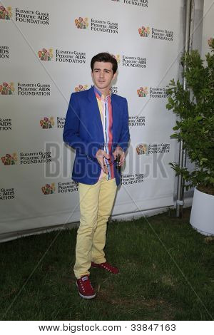 LOS ANGELES, CA - JUN 3: Drake Bell at the 23rd Annual 'A Time for Heroes' Celebrity Picnic Benefitting the Elizabeth Glaser Pediatric AIDS Foundation on June 3, 2012 in Los Angeles, California