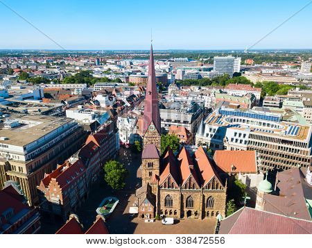 Church Of Our Lady Or Kirche Unser Lieben Frauen Is A Protestant Church Near The Market Square In Br