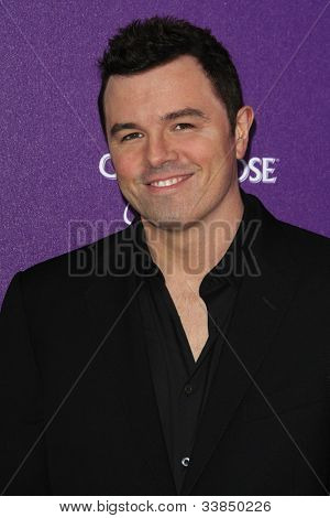 LOS ANGELES - JUNE 9: Seth MacFarlane at the 11th Annual Chrysalis Butterfly Ball held at a private residence on June 9, 2012 in Los Angeles, California