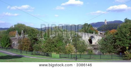 The Old Bridge At Stirling