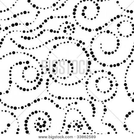 stylish seamless dot background