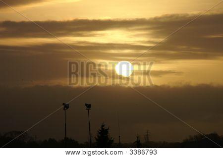 Sunset Over EslöV