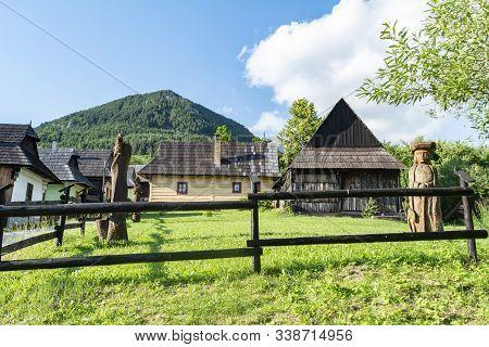 Vlkolinec, Ruzomberok / Slovakia - June 17, 2018: Village Of Vlkolinec, Included In The Unesco World