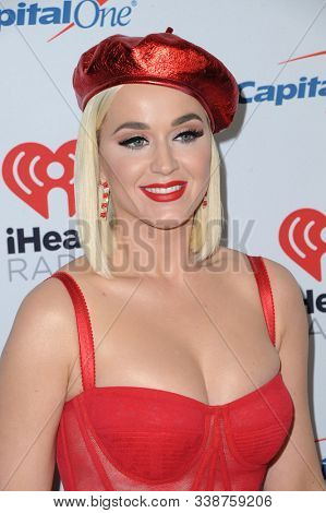 Katy Perry at the KIIS FM's Jingle Ball 2019 held at the Forum in Inglewood, USA on December 6, 2019.