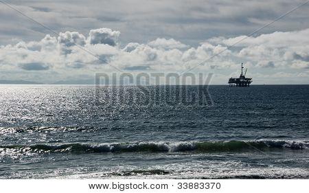 Off Shore Oil Platform
