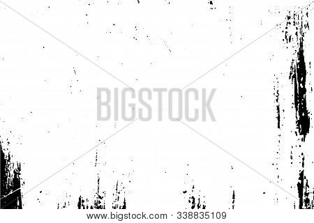 An Old Wooden Surface. Abstract Background, Vector Wood Texture.