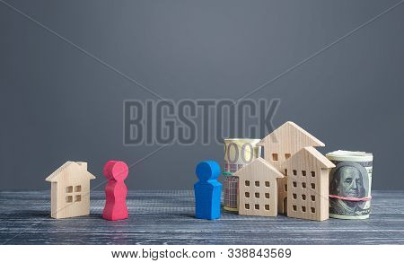 The Husband Takes Most Of The Marital Property From His Ex-wife. Unfair Division After Divorce. Conf