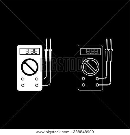 Digital Multimeter For Measuring Electrical Indicators Ac Dc Voltage Amperage Ohmmeter Power With Pr